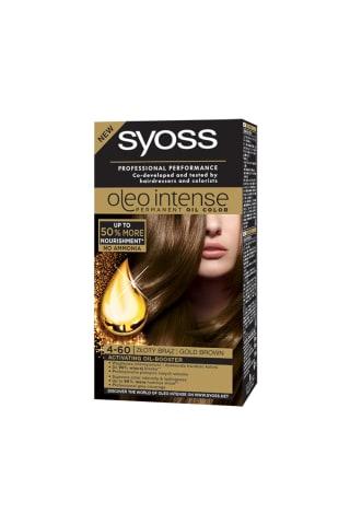 Plaukų dažai SYOSS OLEO INTENSE,Nr.4-60