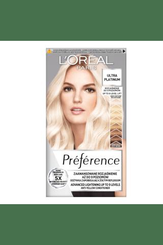 Matu krāsa Loreal preference platīns blonds