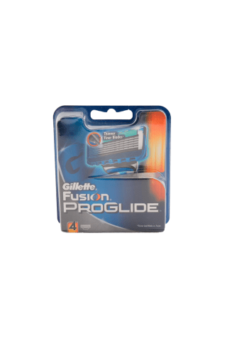 Skūšanās kasetes Gillette Fusion Proglide 4gab