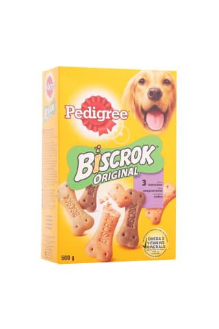 Suņu barība Pedigree biscrock multi 500g