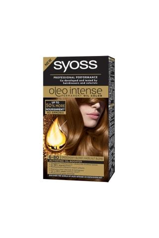 Matu krāsa Syoss intense 6-80 lazdu riekstu blonds