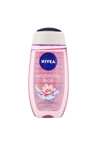 Dušo želė NIVEA WATER LILY & OIL, 250 ml