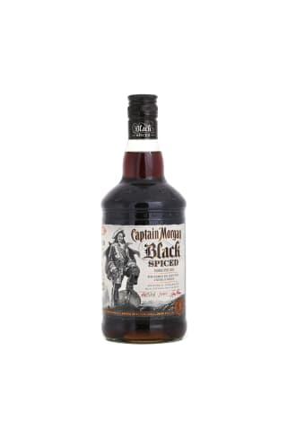 Rums Captain Morgan black spiced 40% 0,7l
