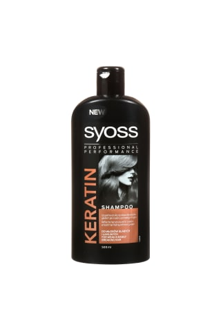 Šampūns Syoss keratin care 500ml