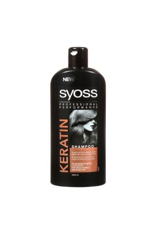 Šampūnas su Keratinu SYOSS, 0,5 l