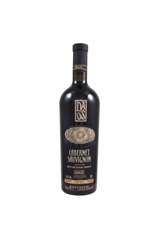 Sarkanvīns Daos Cabernet Sauvignon pussaldais 12% 0,75l