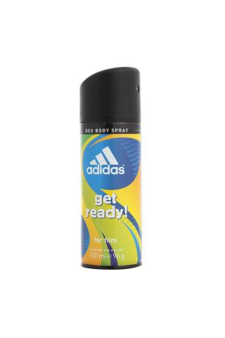 Adidas get ready izsmidzināms dezodorants vīriešiem
