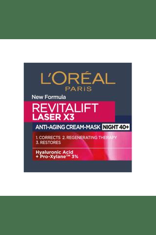 Nakts krēms De revitalift laser 50ml