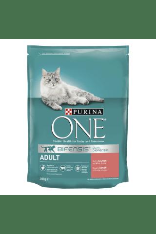 Sausas kačių ėdalas su lašiša ONE, 200 g