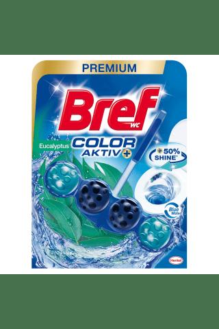 Tualeto valomasis gelis BREF BLUE AKTIV EUCALYPTUS, 50 g