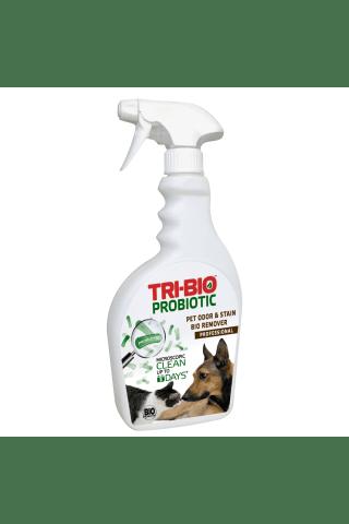 Ekologiškas valiklis naminių gyvūnų kvapui naikinti TRI-BIO, 420 ml