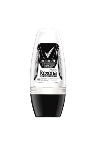 Dezodorants ar rullīti Rexona invisible B&W 50ml