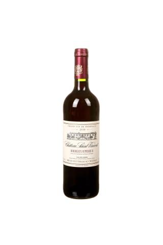 Raudonasis sausas vynas CHATEAU SAINT-VINCENT BORDEAUX SUPERIEUR, 12,5 %,  0,75 l