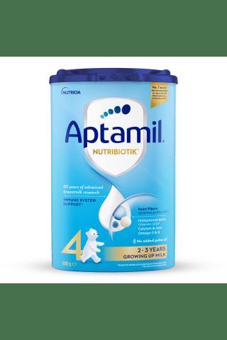 Piena mais. Aptamil 4 no 2 gadiem 800g
