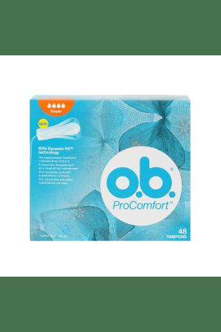 """Ob higēniskie tamponi """"procomfort™"""" super 48gb"""