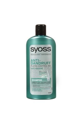 Plaukų šampūnas SYOSS PLATINUM ANTI GREASE, 500 ml