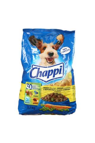 Sausas šunų ėdalas su paukštiena ir daržovėmis CHAPPI, 2,7 kg
