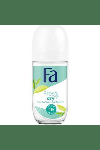 Moteriškas rutulinis dezodorantas FA FRESH&DRY GREEN TEA, 50 ml
