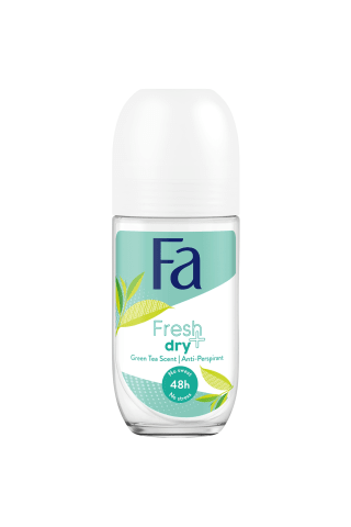 Dezodorants Fa fresh&dry green tea rullveida 50ml