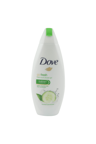 Dušo želė DOVE FRESH TOUCH, 250 ml