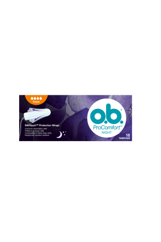 O.B Procomfort Super Night 16Pc