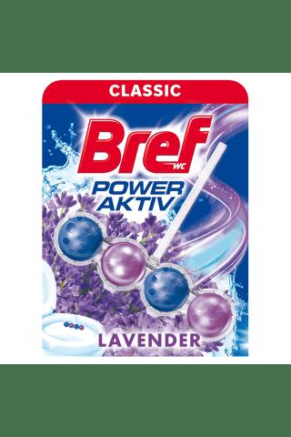 Tualetes Tīrītājs-Atsvaidzinātājs Bref Power Aktiv Lavender 50G