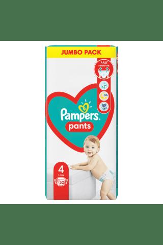 Sauskelnės-kelnaitės  PAMPERS PANTS JP (4) 9-14 kg, 52 vnt.