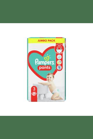 Sauskelnės-kelnaitės  PAMPERS PANTS JP (3) 6-11 kg, 60 vnt.