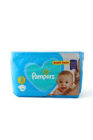 Autiņbiksītes Pampers New Baby Giant Pack 2 4-8kg 100gab.