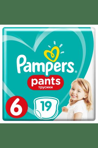 Sauskelnės-kelnaitės PAMPERS CP (6) 16+ kg, 19 vnt.