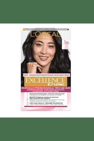 Plaukų dažai L'OREAL EXCELLENCE, Nr. 1