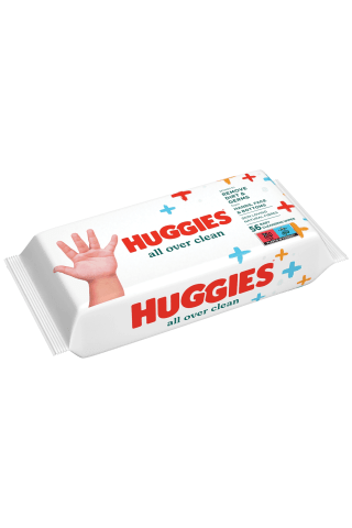 Mitrās salvetes Huggies every day 56gab