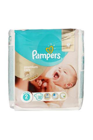 Sauskelnės PAMPERS PREMIUM CARE VP (2) 3-6 kg, 80 vnt.