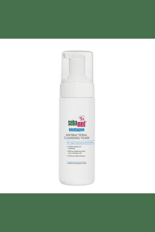 Antibakterinės valomosios putos veidui SEBAMED CLEAR FACE, 150 ml