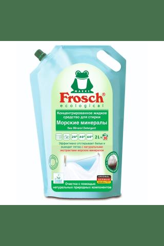 Veļas mazgājamais līdzeklis Frosch mineral, konc., Šķ. 2l