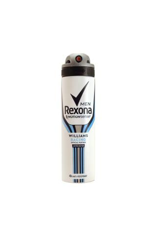 Dezodorants izsmidzin. rexona men racing 150ml
