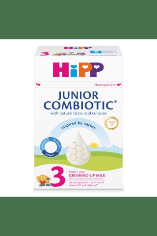 Pieno milteliai pieno gėrimui paruošti nuo 1 metų HiPP3 Combiotic, 500 g