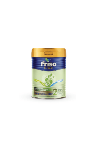 Pieno mišinys kūdikiams  FRISO GOLD 2, nuo 6 mėn., 400 g