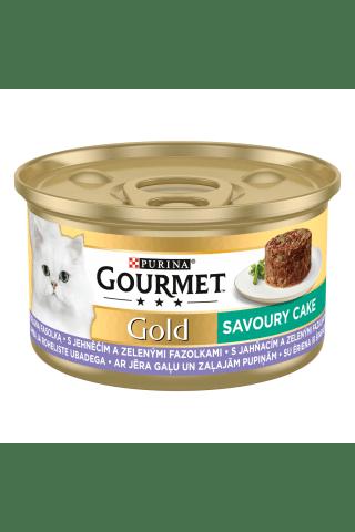 Kačių ėdalas su ėriena GOURMET GOLD, 85 g