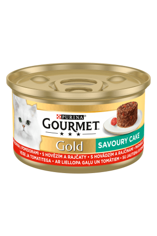 Gourmet Gold Savoury Cake (Liellops),85G