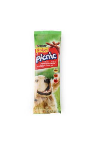 Užkandis šunims su jautiena FRISKIES PICNIC, 42 g