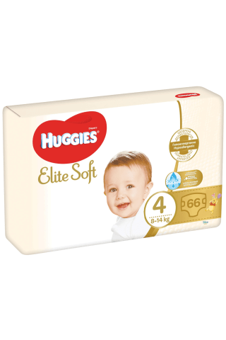 Huggies autiņbiks.elite soft 4 mp 66gb