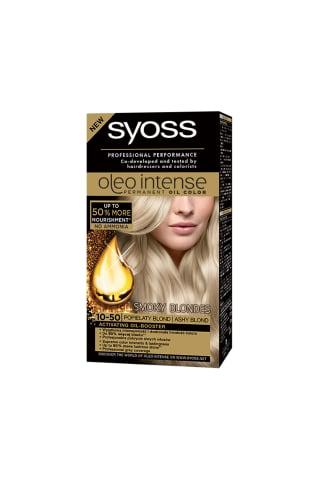 Matu krāsa Syoss oleo 10-50,pelnu blonds