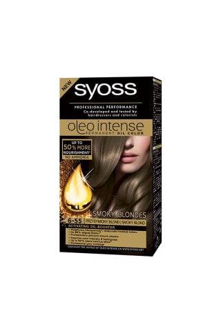 Matu krāsa Syoss oleo 6-55,dūmakaini blonds