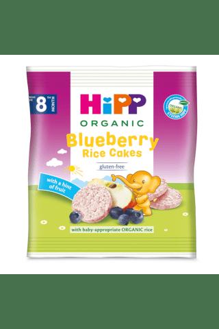Rīsu krekeri Hipp Bio melleņu 8m 30g