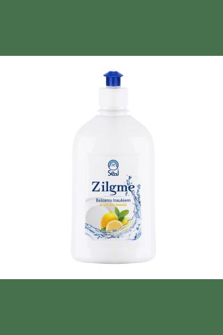 Mazgāšanas līdzeklis traukiem zilgme ar citrona smaržu 500ml