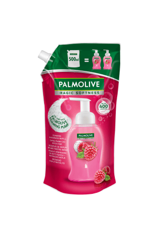 Palmolive Šķidrās Ziepes Magic Softness Raspberry Refill 500Ml