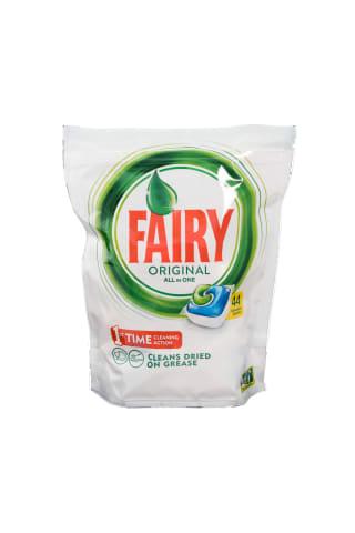 Trauku mazgājamās mašīnas kapsulas Fairy All in 1 Green 48gb