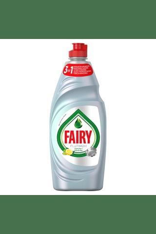 Trauku mazgāšanas līdzeklis fairy platinum lemon&lime 650ml