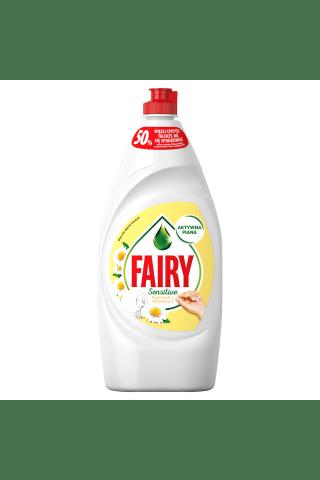 Trauku mazgāšanas līdzeklis fairy sensitive chamomile & vitamine e 900 ml